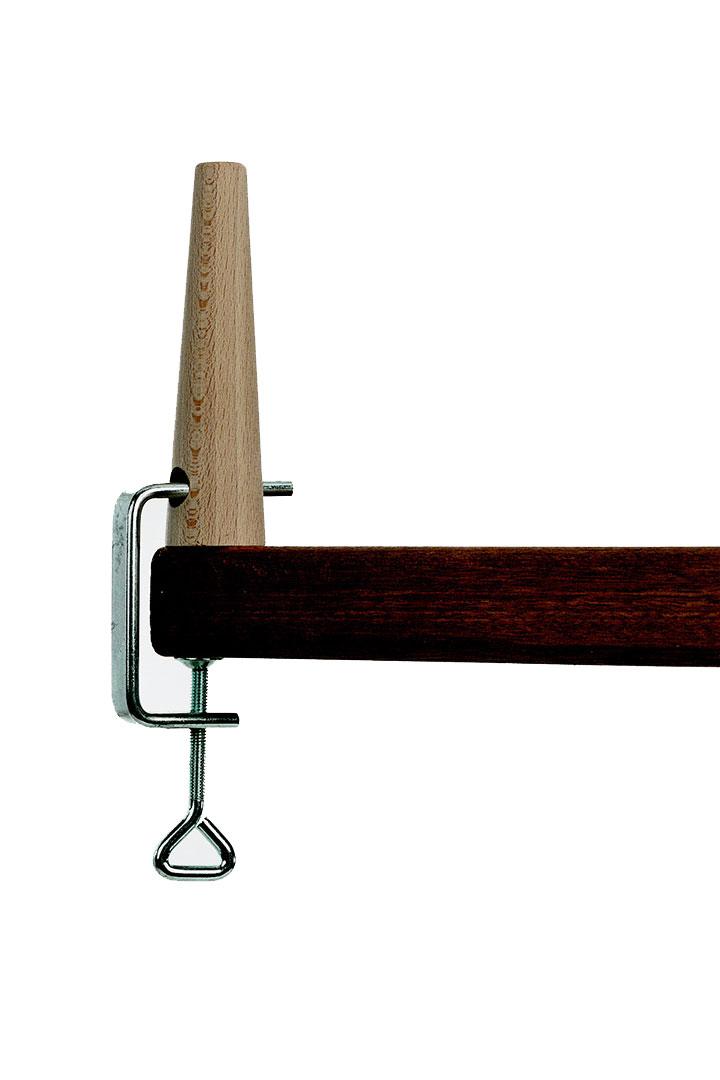 Suporte de manequim de madeira