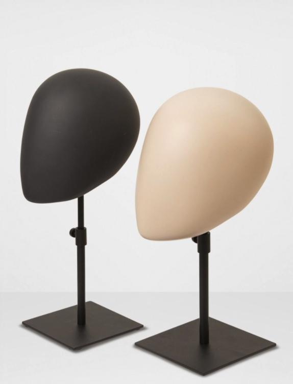 Ellen Wille Decorative Heads - Cabeças decorativas com base de metal