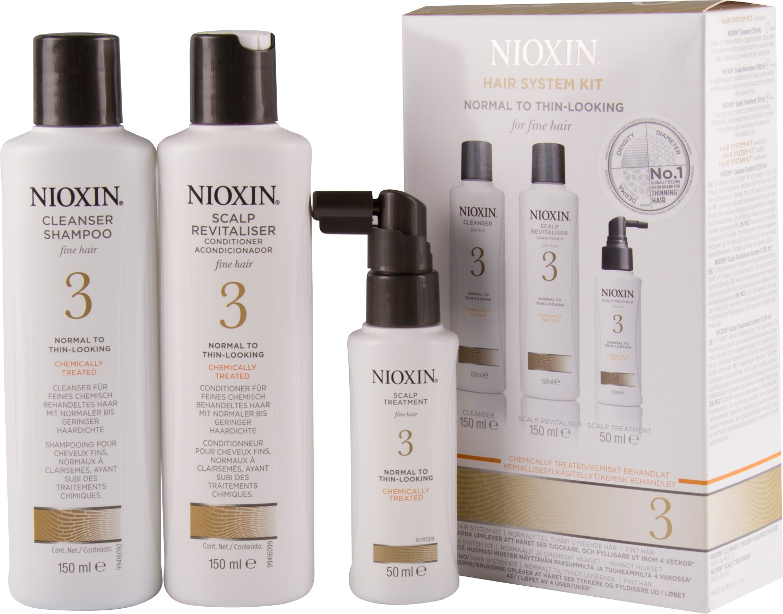 Trial Kit Nioxin Care Sistema 3